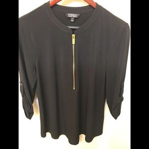 Company Ellen Tracy ladies top black size L